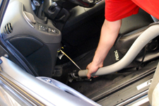 how to clean car mats with bad stains